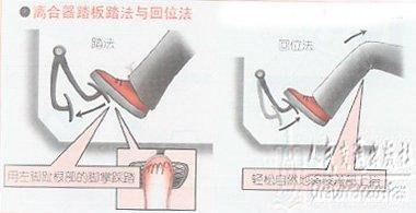 踩离合器的技巧 让你考试过程中不熄火
