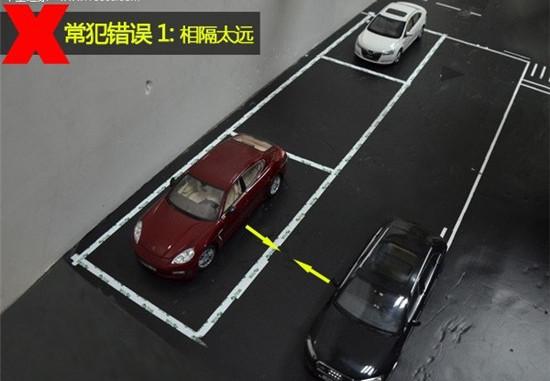图解倒车入库技巧之侧方位停车