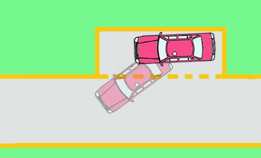 【驾考技巧】侧方停车技巧_科目二小路考_驾考宝典