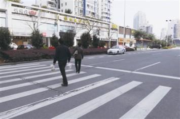 视频:通过人行横道