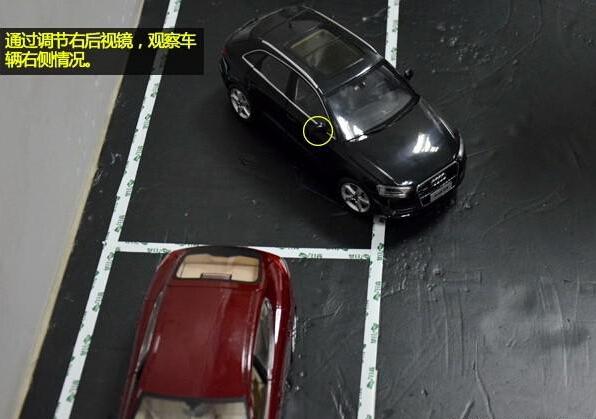 图解倒车入库技巧,侧方位停车.太实用了,必须收藏!