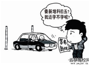 云梦县驾照考试科目五什么时候出